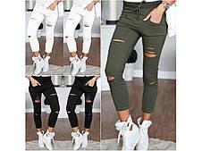 Модные женские укороченные брюки