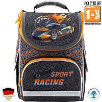 Рюкзак ортопедический  школьный каркасный Kite Sport racing (K18-501S-2) Для Младших классов (1-3)