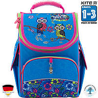 Рюкзак ортопедический школьный каркасный Kite Pretty owls (K18-501S-6) Для Младших классов (1-3)