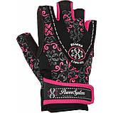 Женские перчатки для фитнеса Power System CLASSY Женские PS-2910  , фото 3