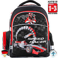 Рюкзак ортопедический  школьный Kite Speed racer (K18-510S-1) Для Младших классов (1-3)