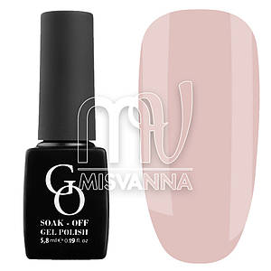 Гель-лак GO 5.8 мл, №4 очень нежно-розовый