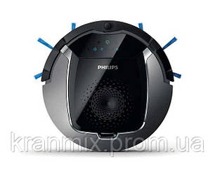 Робот пылесос Philips SmartPro Active, серый металлик, для сухой уборки
