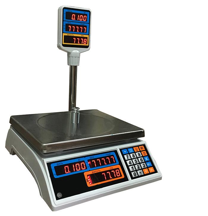 Весы торговые Днепровес ВТД-3Т2 LED