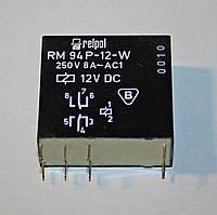 Реле электромеханическое  RM 94P-12-W;  12VDC