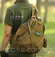 Сумка тактическая, наплечная Protector Plus X214 КОЙОТ