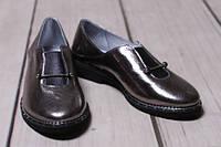 Туфли женские из натуральной кожи на низком ходу от производителя модель ДС - 34, фото 1