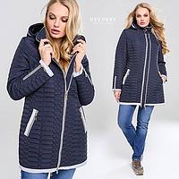 Женская демисезонная курточка Адония. Размеры 48-68