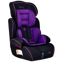 Автокресло JOY (черный/фиолетовый) 50245
