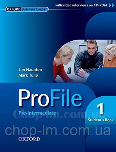 ProFile 1 Student's Book + CD-ROM Level Pre-Intermediate