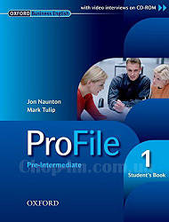 ProFile 1 Student's Book + CD-ROM Level Pre-Intermediate