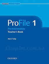 ProFile 1 Teacher's Book Level Pre-Intermediate