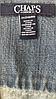 Джинсовая куртка без воротника короткая для женщин CHAPS (США) Голубой, фото 6