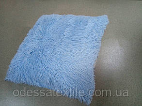 Наволочка з довгим ворсом блакитна (50х50)