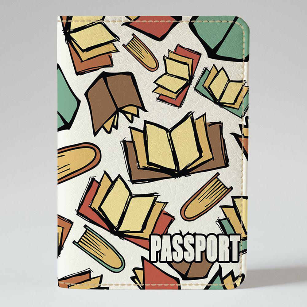 Обложка на паспорт v.1.0. Fisher Gifts 634 Время читать! (эко-кожа)