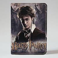 Обложка на паспорт Fisher Gifts 647 Гарри Поттер. Часть 2 (эко-кожа)