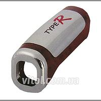 """Накладка защитная на рычаг ручника для автомобиля """"TypeR"""" (HJ-Y 006 W), серая / коричневая, накладка на ручной тормоз"""