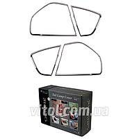 Накладка декоративная хромированная для украшения автомобиля (TLC-BW83AB), для BMW  3-E90, на задние фары, 4 штуки, накладка для бмв