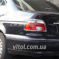 Накладка декоративная хромированная для украшения автомобиля (SP 40311-02C), для BMW 5-E39, на задние фары, накладка для бмв