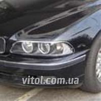 Накладка декоративная хромированная для украшения автомобиля (SP 40311-01C), для BMW  5-E39, на передние фары, накладка для бмв