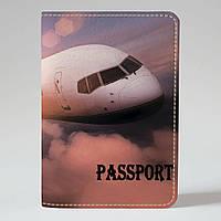 Обложка на паспорт Fisher Gifts 592 Море, пальмы, облака (эко-кожа)