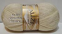 ANGORA GOLDот ALIZE № 213 - кремовый меланж