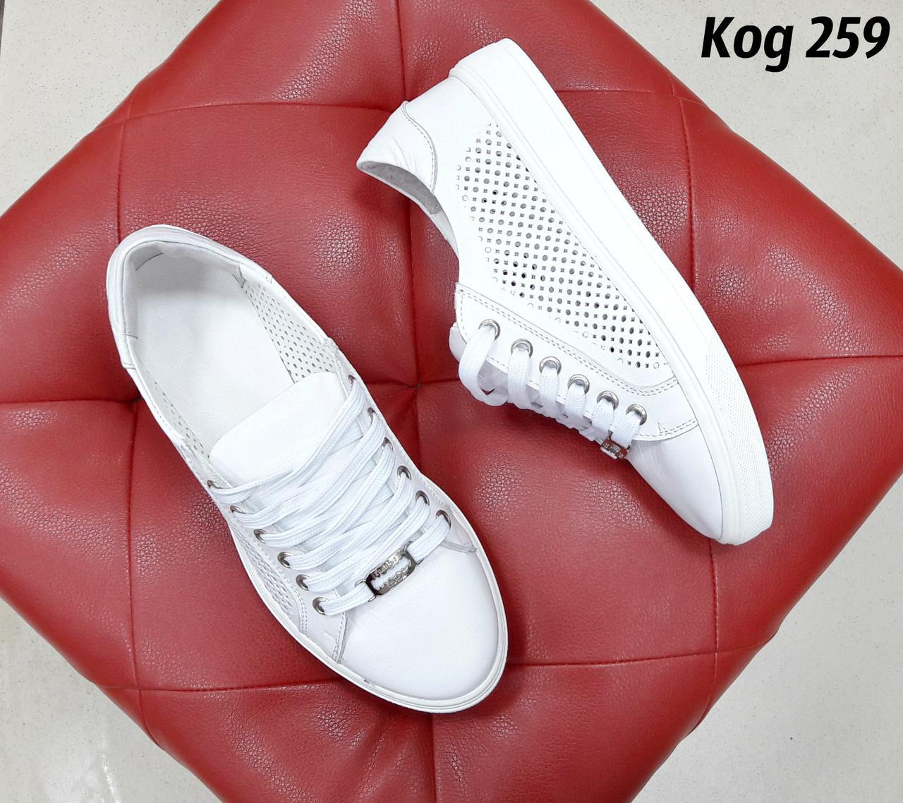 2c64840ff Белые кеды с перфорацией, цена 870 грн., купить в Харькове — Prom.ua  (ID#690809186)