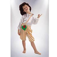 Карнавальный костюм Грибок 122-128 см Сашка  (НГ-9-8028)