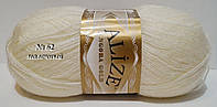 ANGORA GOLDот ALIZE № 62 - молочный
