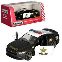 """Машинка KT5386WP """"Kinsmart. 2016 Ford Mustang GT Police"""", 12 см (Y)"""