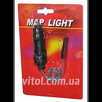 Подсветка - штурманка диодная для автомобиля LED (HA-596 BL), подсветка автомобильная, подсветка авто, подсветка салона