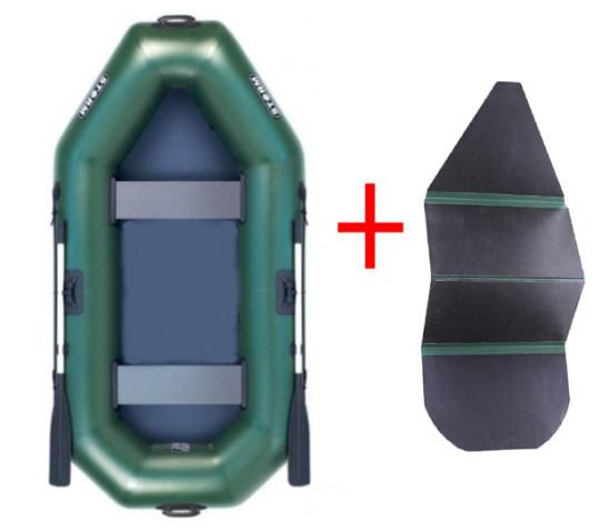 Aqua Storm st249ck - лодка надувная Шторм 249 с жёстким дном