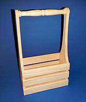 Подставка (Короб)  для бутылок заготовка для декупажа и декора