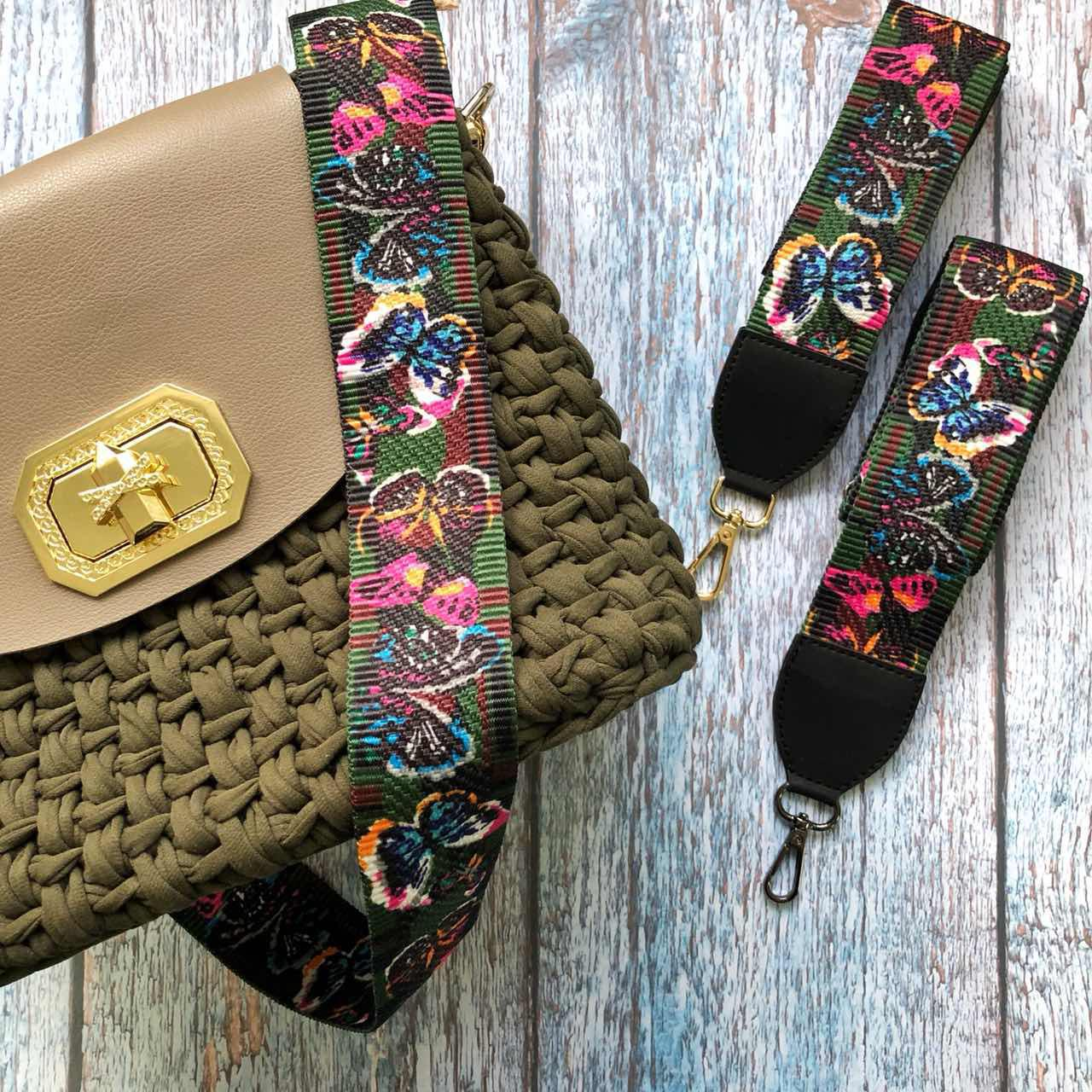 045d48959228 Плечевой ремень для сумки в стиле Fendi. фурнитура для сумок от ...