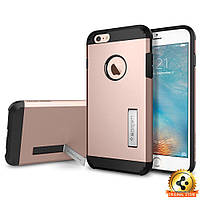 Чехол Spigen для iPhone 6S Plus/6 Plus Tough Armor, Rose Gold, фото 1