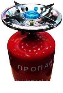 Газовая печка портативная с баллоном на 8 литров, огонь под рукой