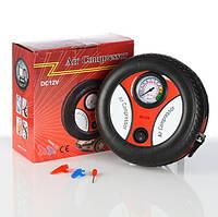 Компрессор Air Compressor 260p, Портативный компрессор, Компрессор  для шин авто, Aвтомобильный компрессор