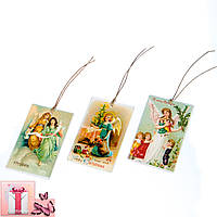 """Комплект елочных игрушек """"Рождественские ангелы"""""""