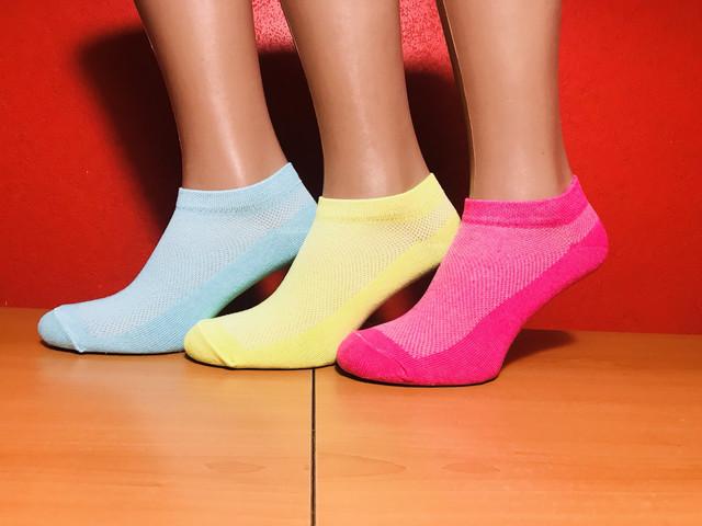 короткие женские носки оптом