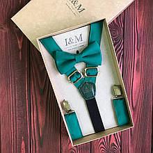 Набор I&M Craft галстук-бабочка и подтяжки для брюк (030241)