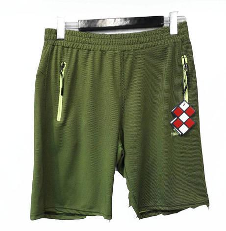 Шорты мужские трикотажные Tommy Life зеленые, фото 2