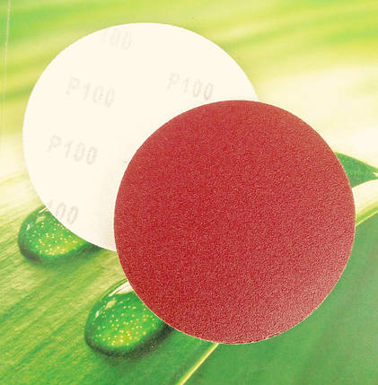 Шлифовальный круг на липучке 125 Р100, фото 2