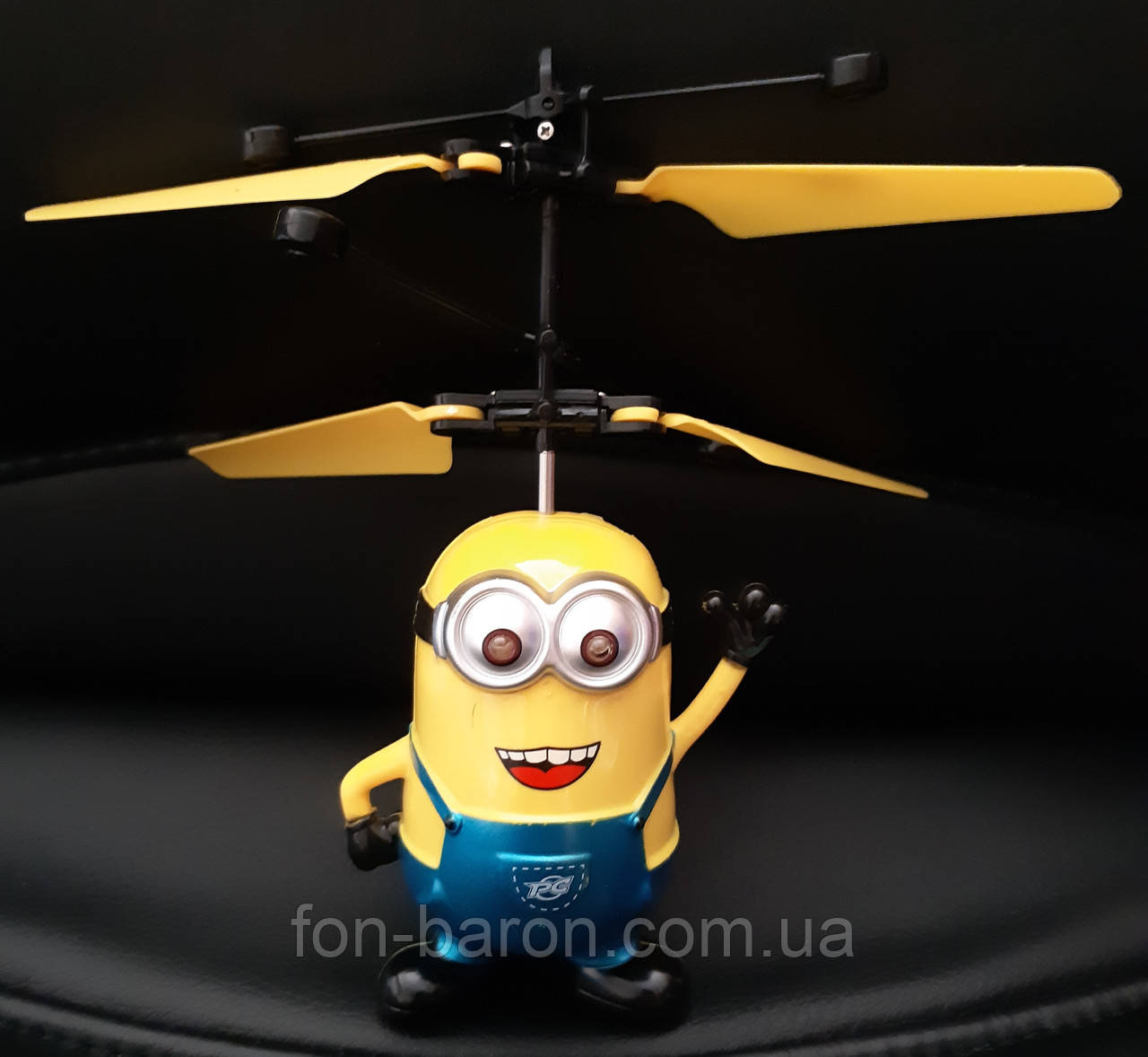 Игрушка летающий Миньон , фото 1