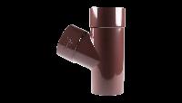 Тройник трубы 60° d.100 Profil 130