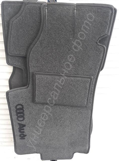 Ворсовые коврики Audi A4 B6 2000- МКП VIP ЛЮКС АВТО-ВОРС - фото 2