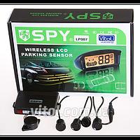 """Парктроник SPY LP-007-2, LP-106-2 /2 датчика D=18mm, без монитора,""""beeper"""", коннектор/ black, парктроник для автомобиля, автомобильный датчик давления"""