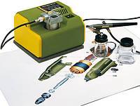 Компрессор Малогабаритный компресор МК 240 и аэрограф АВ 100 PROXXON Micromot (27120)