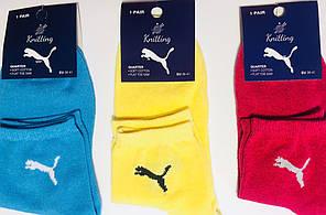 Носки спортивные PUMA размер 35-41 ассорти
