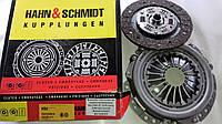 Комплект сцепления без выжимного подшипника Ваз 2101-2107, 2121 (диск 2106) (без паука) Hahn&Schmidt