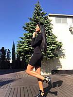 Платье-гольф из фактурного трикотажа а5454-150, фото 1